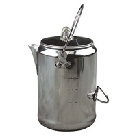 Coffee Pot 9 Cup Aluminium