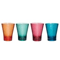 Tritan Tumblers Medium - 4 Pack assorted colours
