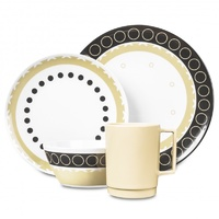 Campfire Melamine Dinner Set 16 Piece