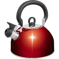 Campfire 2.5l Whistling Kettle, red