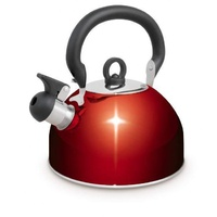 Campfire 4l Whistling Kettle, Red