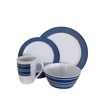 Campfire Nautical 16pc Dinner Set