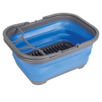 Companion Pop Up Blue Dish Tray and Tub