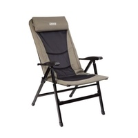 Coleman Flat Fold 8 Position Steel Arm Padded Chair
