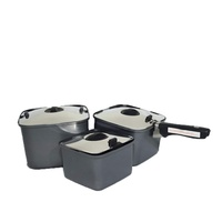 Smartspace 3 Pots Lid Handle Cookware Set