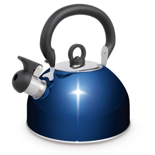 Campfire 2.5l Whistling Kettle, Blue