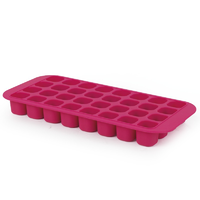 Companion 275x128mm Ice Cube Tray Pink